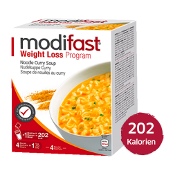 Modifast Nudelsuppe Curry 4...