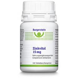 BURGERSTEIN Zinkvital 15 mg...